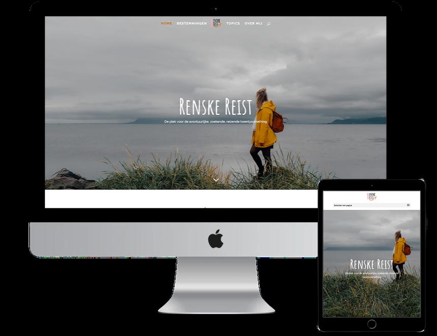 Nieuwe website voor Renske Reist