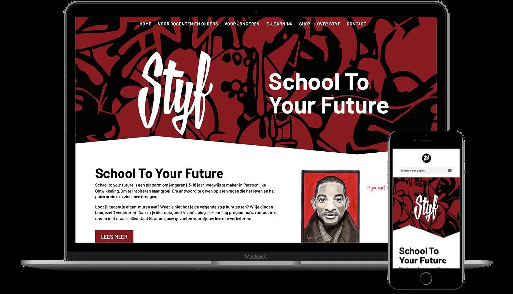 Nieuwe website voor School To Your Future