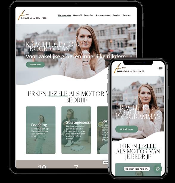 Nieuwe website voor MilouJoline