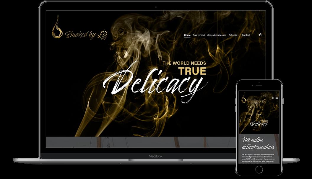 Nieuwe website voor Smoked by Liz